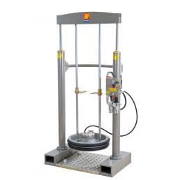 """MECLUBE Frame lifter press for barrels 180 220 kg shank F 2"""" G - 1"""