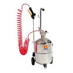 MECLUBE Stainless steel pressure sprayer AISI 304 16 l - 1
