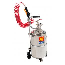 MECLUBE Stainless steel pressure sprayer AISI 304 24 l - 1