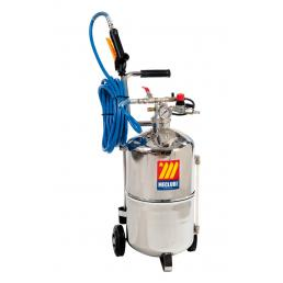 MECLUBE Stainless steel pressure sprayer AISI 304 24 l With foaming device - 1