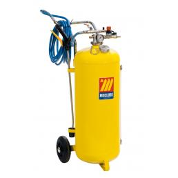 MECLUBE Polished steel pressure sprayer 50 l With foaming device - 1