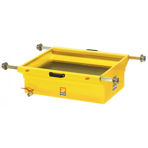 MECLUBE Exhausted oil drain unit for pits 90 l - 1