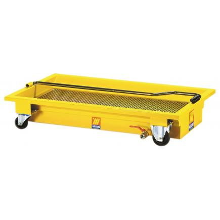 MECLUBE Wheeled exhausted oil drain unit 60 l - 1
