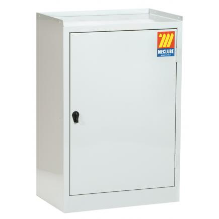 MECLUBE Cabinet 1 door with lock, inside drawer and two shelf - 1
