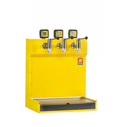 MECLUBE Oil dispenser bar with digital flow meter - 1
