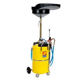 MECLUBE Air operated oil suction drainer for exhausted oil 90 l - 1