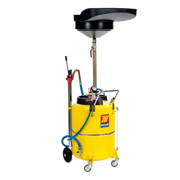 MECLUBE Air operated oil suction drainer for exhausted oil 120 l - 1