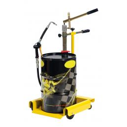 MECLUBE Double acting wheeled oil pump for drums of 30 60 l - 1