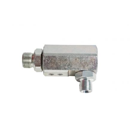 """MECLUBE Swivelling joint 90° GREASE 600 bar M 1/4""""G - 1"""