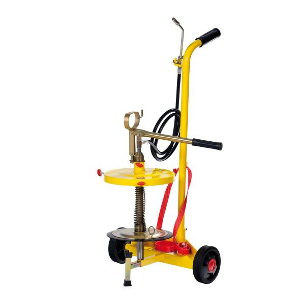 MECLUBE Wheeled manual grease pump for drums of 15 kg - 1