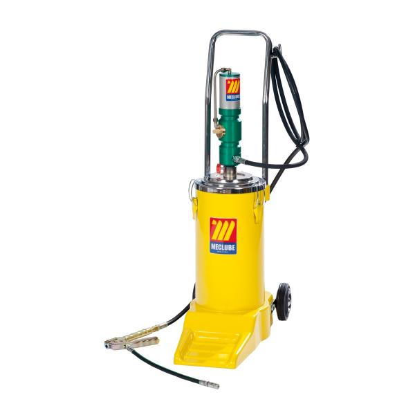 MECLUBE Pneumatic wheeled grease pump for 16 kg - 1