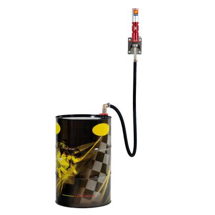 MECLUBE Wall fixed oil set for barrels of 180 220 l Mod.608 ratio 8:1 Delivery capacity 20 l/min - 1