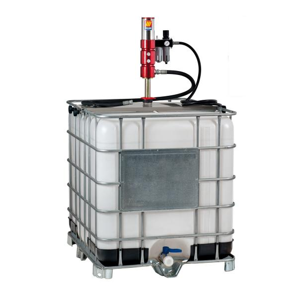 MECLUBE Oil set tank 1000 l Mod.803 ratio 3:1 Delivery capacity 40 l/min - 1