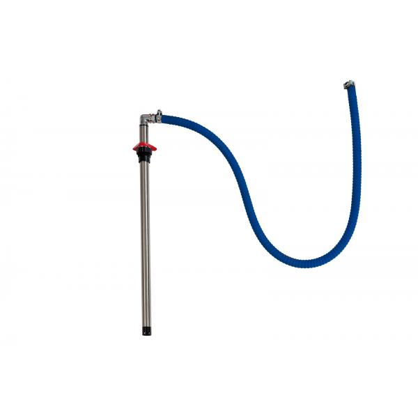 MECLUBE STAINLESS STEEL shank hose for wall fixed pumps set - 1