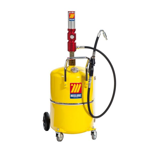 MECLUBE 65 l pneumatic oil dispenser with level indicator - 1