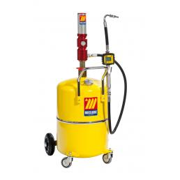 MECLUBE 65 l pneumatic oil dispenser with digital nozzle with level indicator - 1