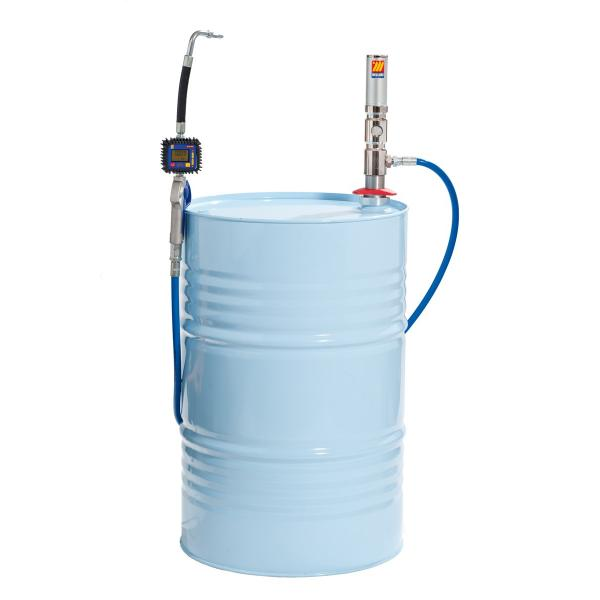 MECLUBE Set for anti freeze liquid for barrels of 180 220 l Mod. 501X ratio 1:1 Delivery capacity 35 l/min - 1