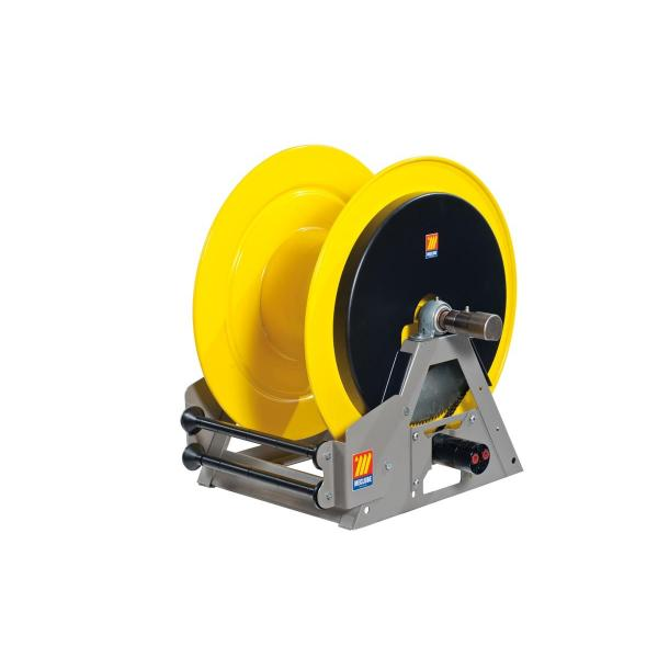 MECLUBE Industrial hose reels motorized hydraulic FOR GREASE 400 bar Mod. MI 630 - 1