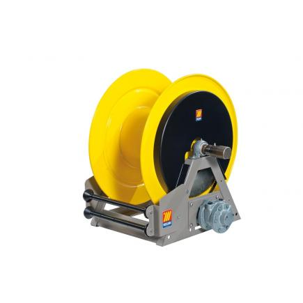 MECLUBE Industrial hose reels motorized pneumatic FOR WATER 150° C 200 bar Mod. MP 630 - 1
