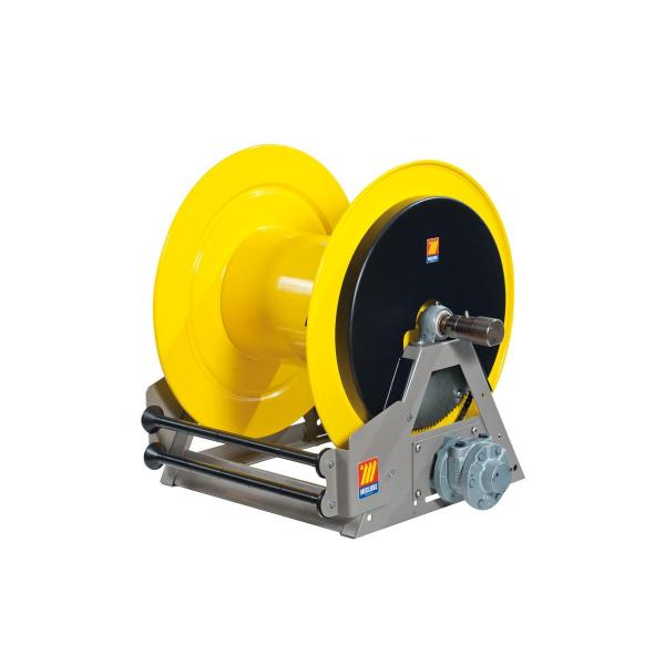 MECLUBE Industrial hose reels motorized pneumatic FOR GREASE 400 bar Mod. MP 640 - 1
