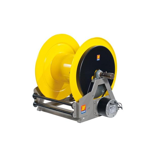 MECLUBE Industrial hose reels motorized electrical 12V FOR GREASE 400 bar Mod. ME 640 - 1