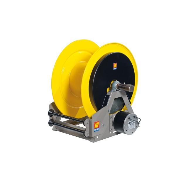 MECLUBE Industrial hose reels motorized electrical 24V FOR OIL AND SIMILAR 140 bar Mod. ME 630 - 1