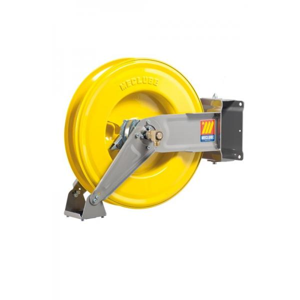 MECLUBE Hose reel swivelling FOR AIR WATER 20 bar Mod. S 460 WITHOUT HOSE - 1