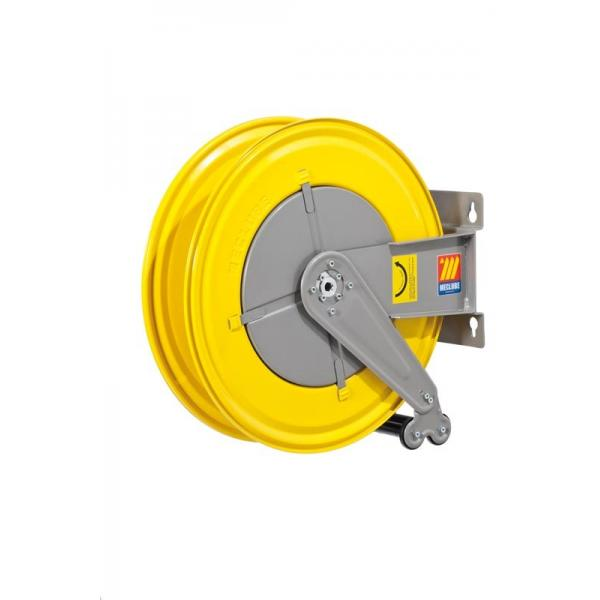 MECLUBE Hose reel fixed FOR WATER 150° C 200/400 bar Mod. F 550 WITHOUT HOSE - 1