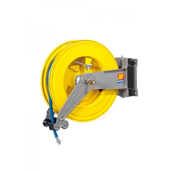 MECLUBE Hose reel swivelling FOR AIR WATER 20 bar Mod. S 550 WITH HOSE 25m - 1