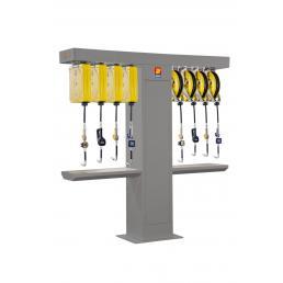 MECLUBE Support bilateral frame for 8 hose reels - 1