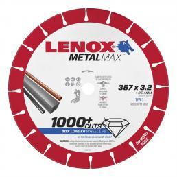 LENOX METALMAX™ cut off diamond disc, 357mm, for cropper - 1