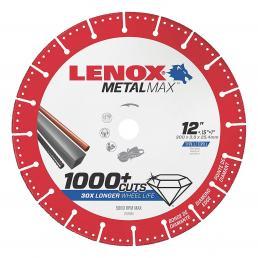 LENOX METALMAX™ cut off diamond disc, 300mm, for angle grinder - 1