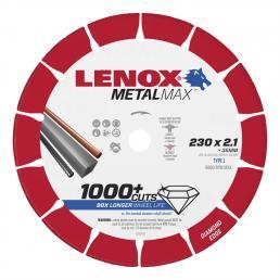 LENOX METALMAX™ cut off diamond disc, 230mm, for angle grinder - 1