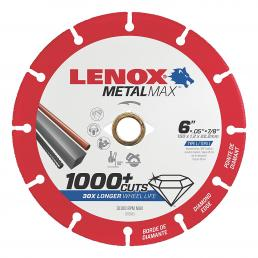 LENOX METALMAX™ cut off diamond disc, 150mm, for angle grinder - 1