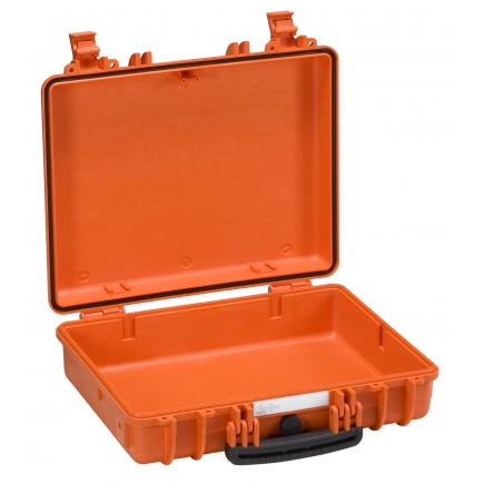 EXPLORER CASES Anti-shock case ideal for laptop and accessories orange, empty - 1