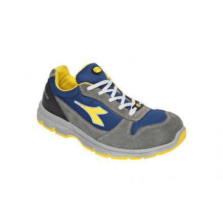 DIADORA UTILITY Safety Shoes RUN TEXT LOW S1P SRC ESD, grey / blue - 1