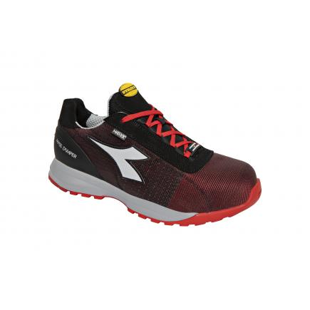 DIADORA UTILITY Safety Shoes GLOVE MDS MATRYX LOW S1P HRO SRC, red / grey - 1