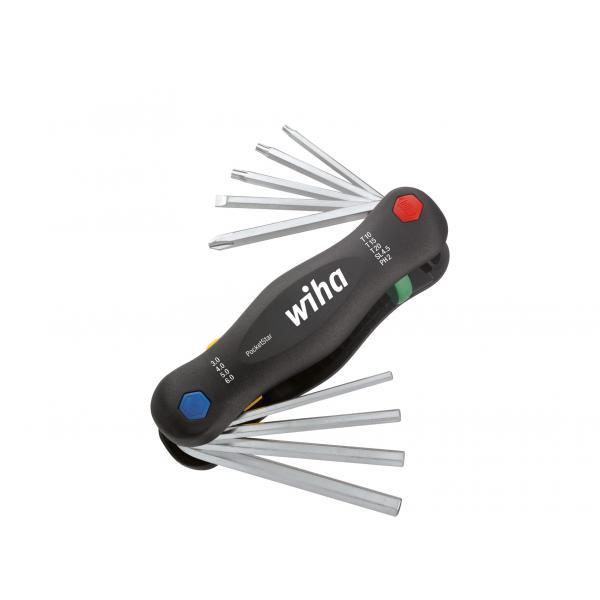 WIHA L-key set in Multitool PocketStar assorted (9-pcs.) - 1