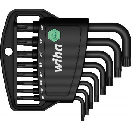 WIHA L-key set in Classic holder TORX PLUS®in black oxidised (9-pcs.) - 1