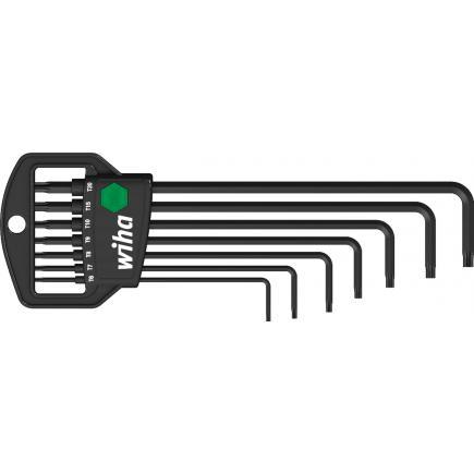 WIHA L-key set in Classic holder TORX® MagicSpring® black oxidised (8-pcs.) - 1