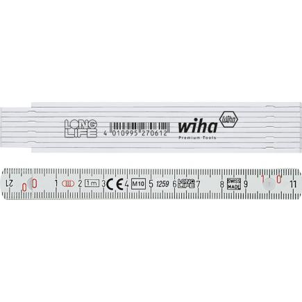 WIHA Folding ruler Longlife 1 m 10 segments - 1