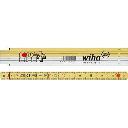 WIHA Folding ruler LongLife Plus 2 m 10 segments - 1