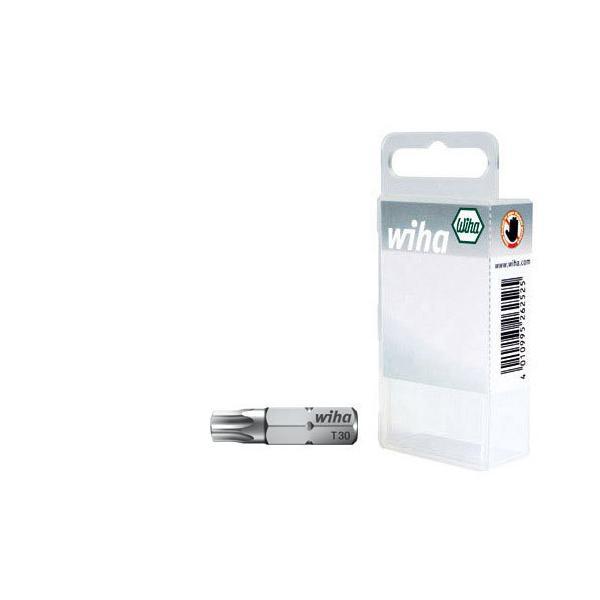"""WIHA Bit set Standard 25 mm TORX® 1/4"""" in box (2-pcs.) - 1"""