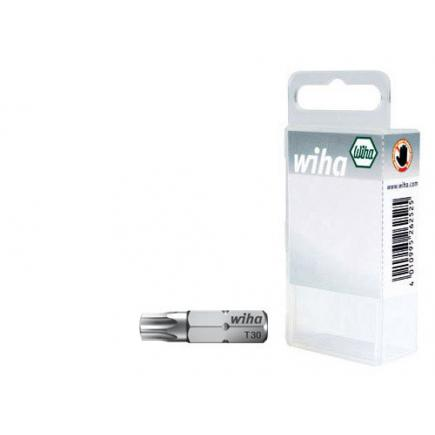 "WIHA Bit set Standard 25 mm TORX® 1/4"" in box (10-pcs.) - 1"
