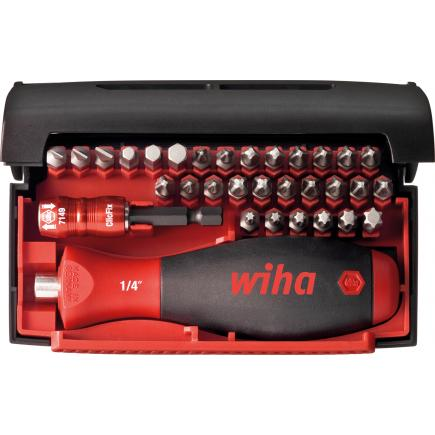 "WIHA Bit set Collector Standard 25 mm assorted 1/4"" included box (33-pcs.) - 1"