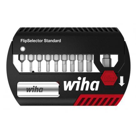 """WIHA Bit set FlipSelector Standard 25 mm hexagonal 1/4"""" (12-pcs.) - 1"""
