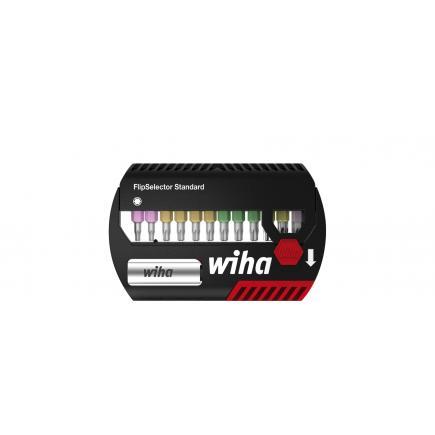 "WIHA Bit set FlipSelector Standard 25 mm SIT (for Assy® and Pias screws) 1/4 ""(13 pcs.) - 1"
