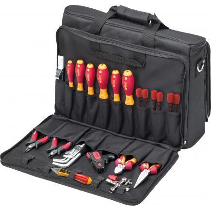 WIHA Tool set service technician assorted 1000V included bag (30-pcs.) - 1