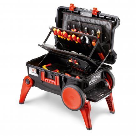 WIHA Tool case set XXL III electric 1000V (100-pcs.) - 1