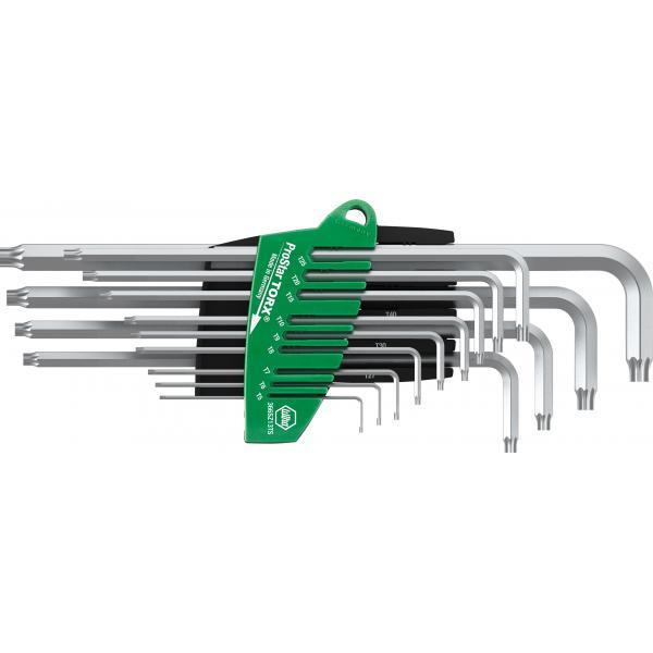WIHA L-key set in ProStar holder TORX® in titanium silver in blister pack (14-pcs.) - 1
